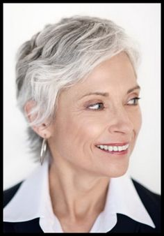 Incredible For Women Grey And Short Hairstyles On Pinterest Short Hairstyles Gunalazisus