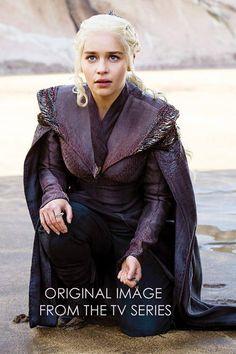 MADE TO ORDER Daenerys Targaryen Black Grey costume season 7