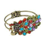 1PCS Vintage Colorful Crystal Peacock Bohemian Style Bracelet Reviews - 1PCS Vintage Colorful Crystal Peacock Bohemian Style Bracelet    From the moment of 99% people see this Bracelet they know this is the one.This Bracelet making you stand out from