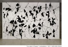 "Installations - ""Toccata and Fugue"" by Sakir Gokcebag, a Turkisk artist"