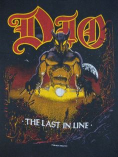 Dio 84 Tour _ I believe i was there!