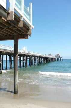 Drive. Venice to Malibu. Walk down the 780-ft Malibu Pier. Built in 1905 as a loading dock for construction material.