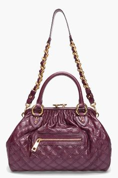 Marc Jacobs Purple Stam Tote