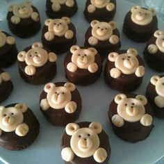 Brownies Ursinho por Dolce Vila Café