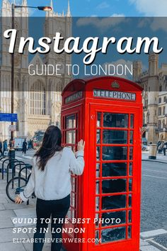 Heading to London? You can't miss these London photography spots. Use this guide to the best photo spots in London to take beautiful photos of your trip. Uk Capital, Spencer House, London Tours, London Guide, Dutch House, Telephone Booth, London Places, Westminster Abbey, London Photography