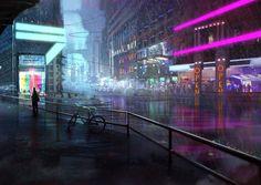 Картинки по запросу cyberpunk ambient