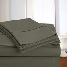 800 thread count 100% Egyptian Cotton 4 Pieces Sheet Set