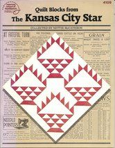 Quilt Blocks from The Kansas City Star Collected by Nettie McCathron