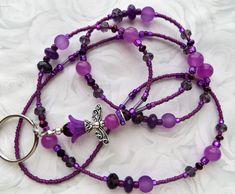 Jewelry Ideas, Diy Jewelry, Jewelry Making, Unique Jewelry, Lanyard Necklace, Necklaces, Bead Jewellery, Beaded Jewelry, Nurse Lanyard