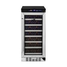 tall narrow wine fridge. Nice. Wine refrigerator, Wine