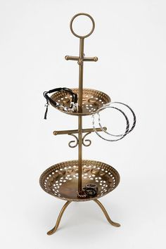 Double-Punch Catch-All Stand from Urban Outfitters. Shop more products from Urban Outfitters on Wanelo. Jewellery Storage, Jewellery Display, Jewelry Organization, Jewelry Stand, Jewelry Holder, Urban Outfitters, Blue Centerpieces, Apartment Essentials, Hanging Necklaces
