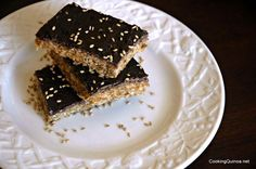 Quinoa Protein Bars ~ Wendy has some of the most delicious recipes for quinoa!