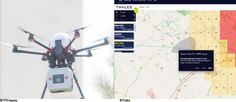 Thales demonstrates ECOsystem UTM automatic drone flight authorization incorporating FAA LAANC concepts - SUAS News