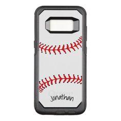 Baseball Design Otter Box OtterBox Commuter Samsung Galaxy S8 Case