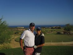 Golfing in Cabo San Lucas while cruising in Oct 2011