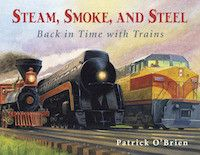 Written & Illustrated by: Patrick O'Brien All aboard! This train travels…