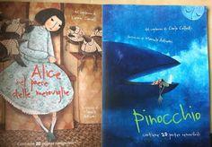 Butterflies in my tummy!: pinocchio e alice in libreria nella nuova versione...