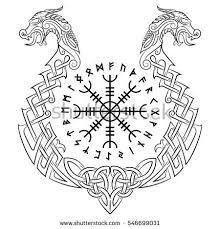 Resultado de imagen para aegishjalmur tattoo designs
