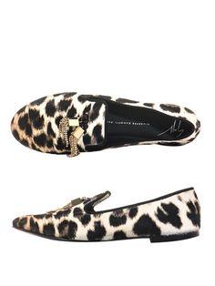 6125326f0436 Giuseppe Zanotti Leopard ponyskin slippers (159344). Turkish  DelightGiuseppe Zanotti
