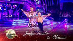 Judge Rinder and Oksana Platero Paso Doble to 'Born This Way' - Strictly...
