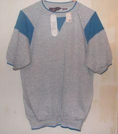 Vintage Line-up Sweatshirt Short Sleeves Unisex Sz Medium M NWT Gray in Unisex & T-Shirts | eBay