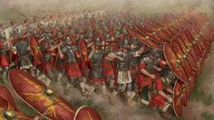 Interesting animation shows the 'reactionary' evolution of Roman battle tactics :http://www.realmofhistory.com/2016/05/10/animated-evolution-roman-battle-tactics/