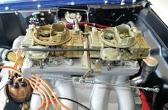 1969 Ford Mustang Sohc Engine Detail