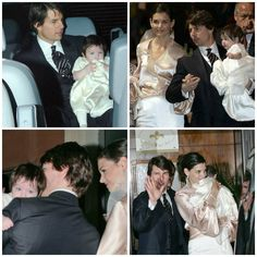Actress - atriz - actriz - actor - ator - hair - cabelo - pelo - dark - escuro - oscuro - black - preto - negro - eye - olho - ojo - blue - azul - beautiful - bonita - hermoso - moda - look - style - estilo - inspiration - inspiração - inspiración - fashion - dress - vestido - baby - bebê - daughter - filha - hija - father - pai - padre - dad - papai - papá - mother - mãe - madre - mom - mamãe - mamá - happy family - família feliz - November - 2006 - Katie Holmes - Suri Cruise - Tom Cruise