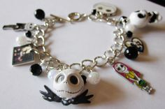 Nightmare Before Christmas Halloween Charm by BookGeekBoutique, $16.00