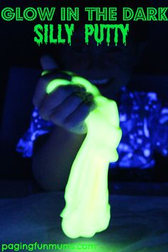Glow in the Dark Silly Putty 1