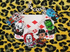 Baby Charm Bracelet, Awesome Stuff, Horror Movies, Type 3, Jewelery, Charmed, How To Make, Accessories, Horror Films