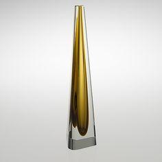Obeliski, Franck Glass Design, Design Art, Art Of Beauty, Vintage Vases, Bukowski, Hand Blown Glass, Les Oeuvres, Modern Contemporary, Glass Art