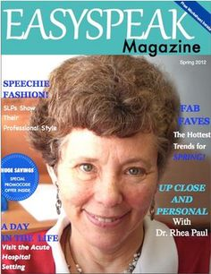 SLP Resource to Share: 'Easyspeak Magazine'