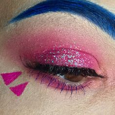 D.Va FROM OVERWATCH INSPIRED EYE #makeup #beauty