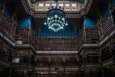 Het koninklijk kabinet, de boekentempel van Rio de Janeiro