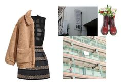 """""""Untitled #161"""" by danielagreg ❤ liked on Polyvore featuring H&M and Dr. Martens"""