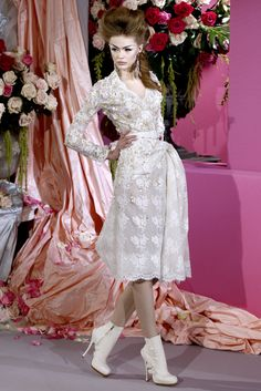 Christian Dior Spring 2010 Couture Fashion Show - Frida Gustavsson (IMG)