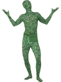 Second Skin grass costume - go green for St Paddy's!  http://party-magic.co.uk/Second-Skin-Costume-Grass-Pattern.aspx