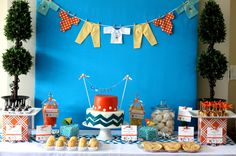 Baby Shower ideas feature on www.partyfrosting.com
