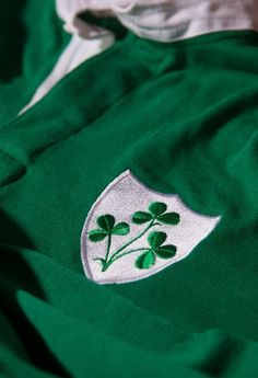 """Ireland are favourites for the Six Nations and are serious contenders for the World Cup this year, with a spirit that transcends national boundaries. "" Image - An old Irish rugby jersey belonging to Willie John McBride"