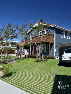 Front Garden Ideas Driveway, Driveway Design, Permeable Driveway, Sweden House, Garden Design, House Design, Aichi, Home Landscaping, Dream House Exterior