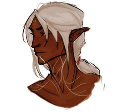 masyafs:  long hair fenris