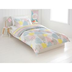 Whimsy Reversible Quilt Cover Set - Double Bed