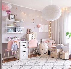 Girls Bedroom a scandinavian style shared girls' room -| scandinavian style