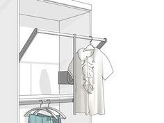 Garderobenlift