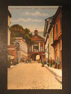 AK Vilnius Wilna Litauen Kapelle 0strobramska Stengelkarte ungelaufen | eBay