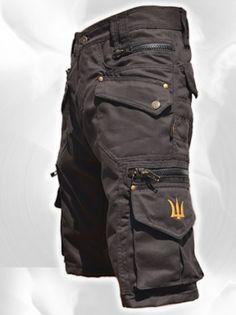 Men Short Pants Hipster, Tribal, Steampunk, Cargo Pants, Burning Man, Suit, Pocket Pants,Brass Hard Wear,Gift For Men .Psy Trance Boho.Gift by fairyland6 on Etsy