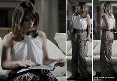 moda da novela Império - look da Daniele dia 8 de agosto/2014
