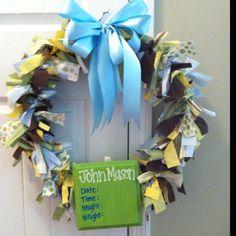 Mason's Baby Wreath