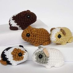 Free Guinea Pig Amigurumi Pattern http://wixxl.com/free-guinea-pig-amigurumi-pattern/